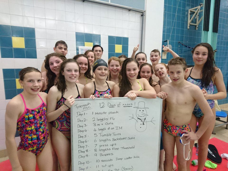 The 12 Days of Christmas: A Swimming Tradition