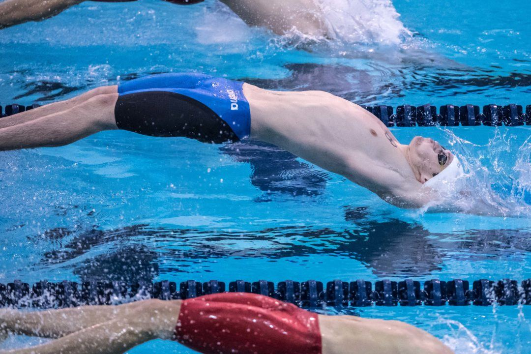 Tarasevich Snags Olympic-Worthy 100 Back Time At Russian C'ships