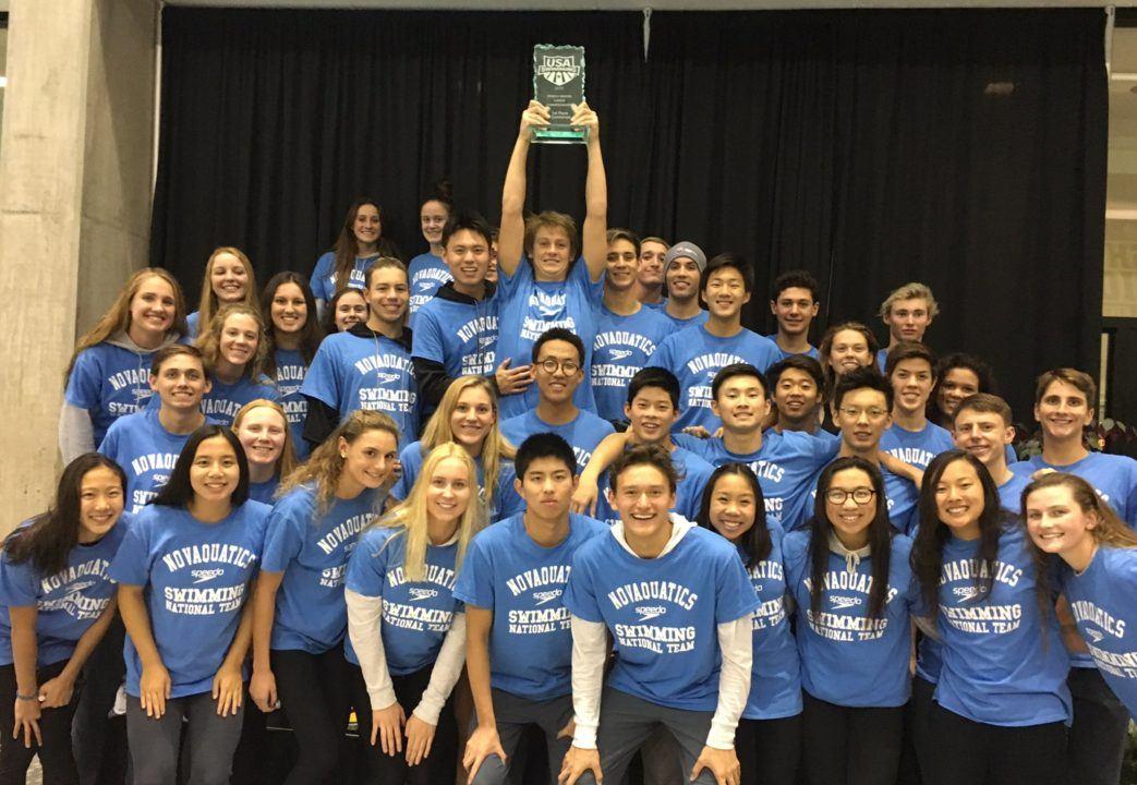 Irvine Novaquatics Boys, Fort Collins Girls Win Junior West Titles
