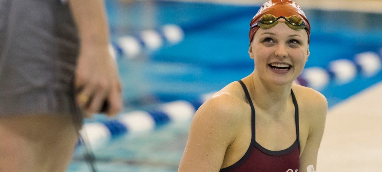 Denison's KT Kustritz Breaks NCAA D3 Record in 100 Breaststroke