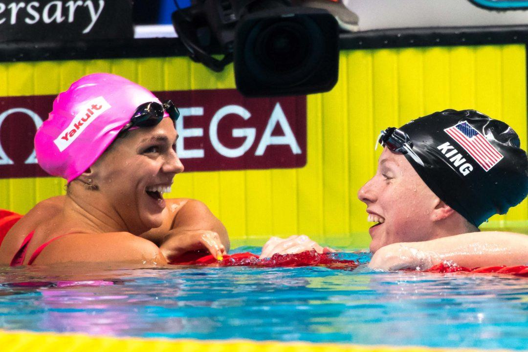 2019 World Champs Preview: The 50 Breast, Featuring Lilly King & Yulia Efimova