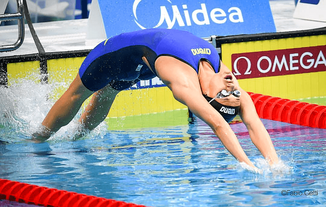 Margherita Panziera Breaks Her Own Italian Record in 100 Back