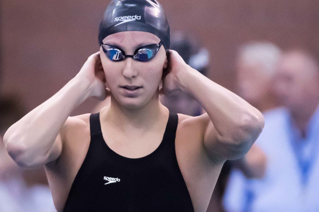 Margo Geer Swims Lifetime Best in 100 Free in Austin Prelims