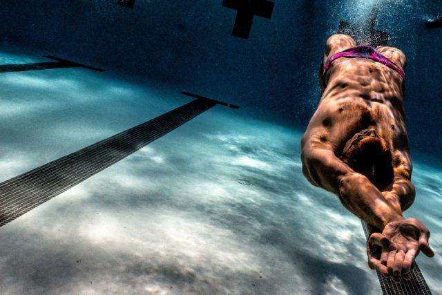 Matt Grevers underwater swimming