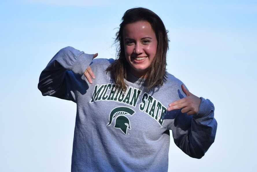 Sprinter Mary Kaitlyn McPherson Commits to Swim for Michigan State