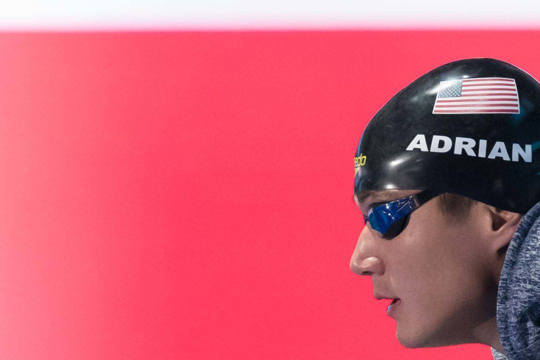 Nathan Adrian Rips Sub-22 50 Free for 11th Consecutive Year