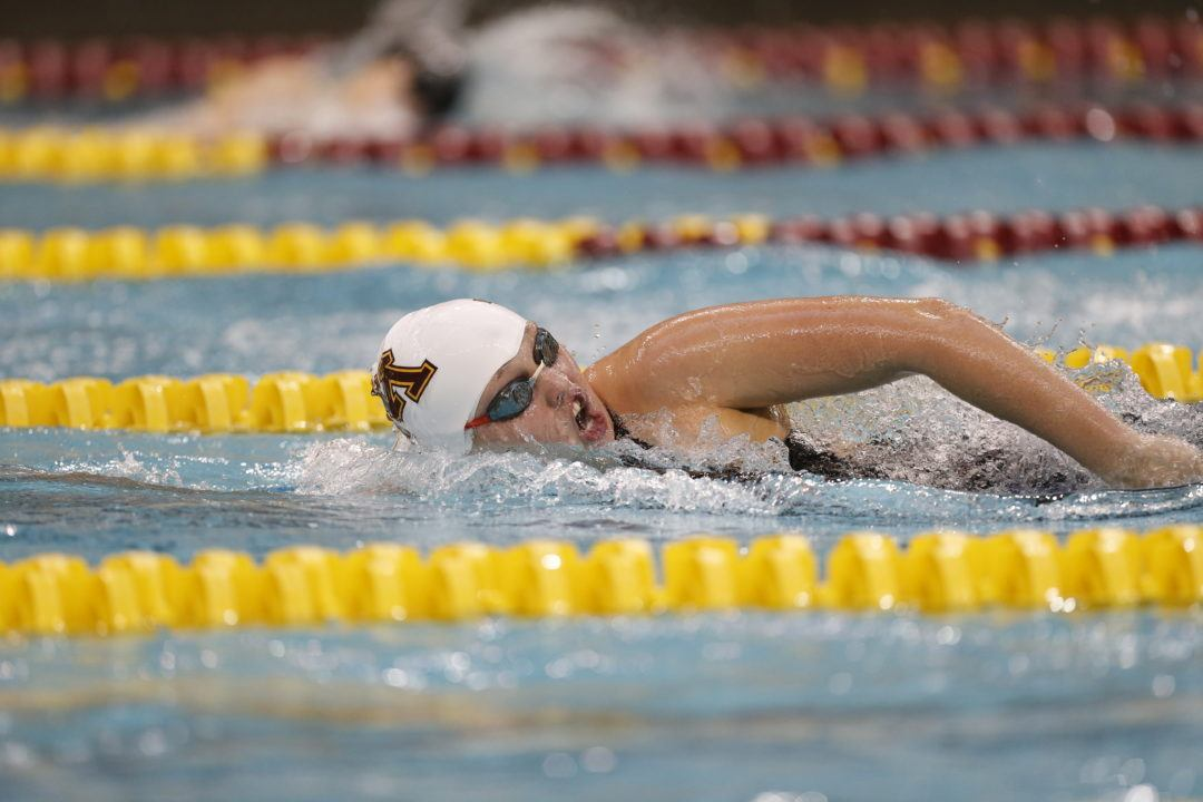 Minnesota Freshman Mackenzie Padington on School Record & Team Culture