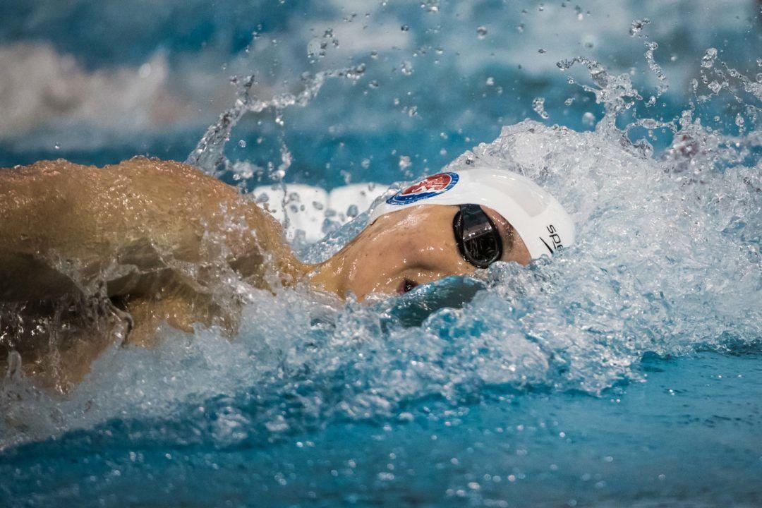 Dolfin Swim of the Week: Manoff Hits Career-Best 100 Free As VT Upsets Ohio St.
