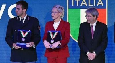 COLLARI D'ORO CONI: Premiato il Nuoto Italiano al Foro Italico
