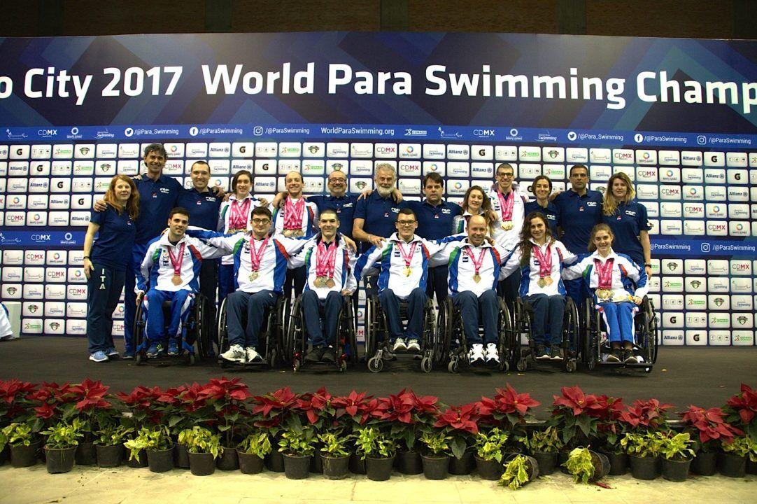 L'ITALIA SCRIVE LA STORIA Ai Mondiali di Nuoto Paralimpico in Messico