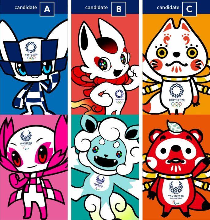 Tokyo 2020 Organizers Reveal Mascot Ballot For Schoolchildren's Vote