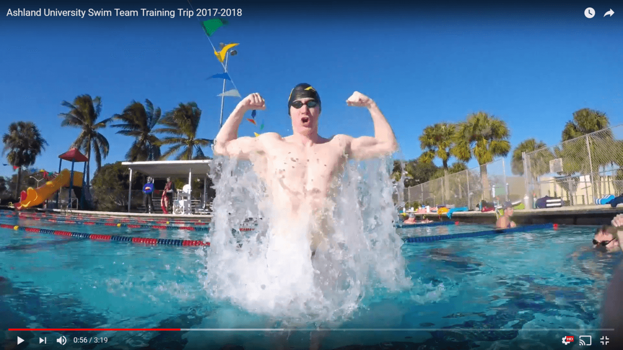 Ashland University Takes On Juno Beach for Winter Training (VIDEO)