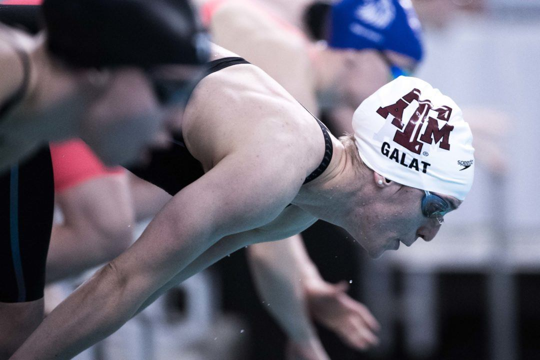 NCAA D1 Women's Improvement at Nationals