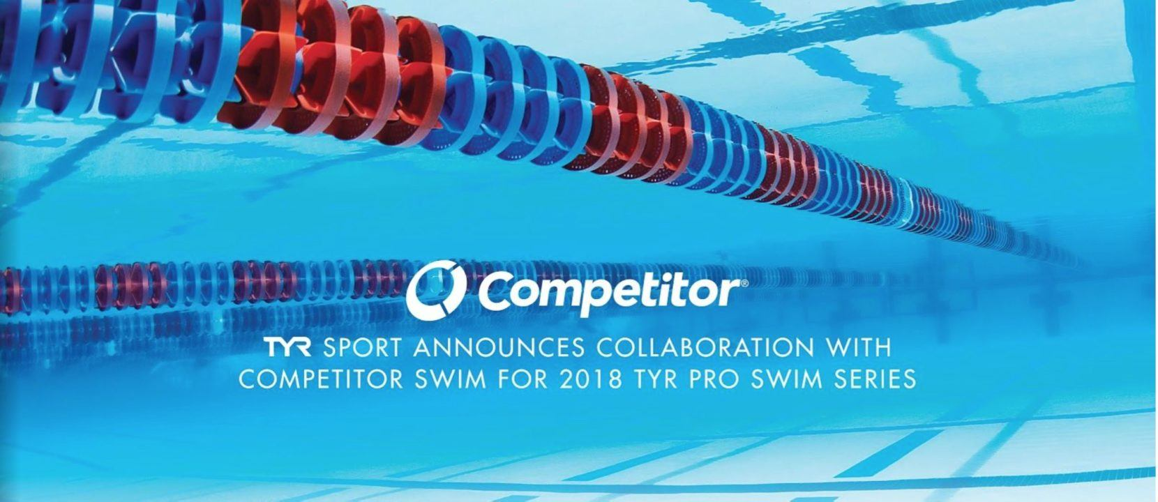 TYR Announces Collaboration With Competitor Swim For Pro Swim Series