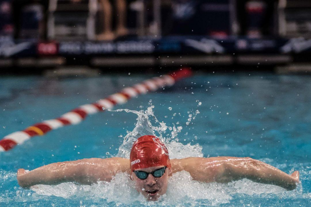 NC State's Knowles, Brown Tie With 1:49.8 200 FR at Greensboro Sectional