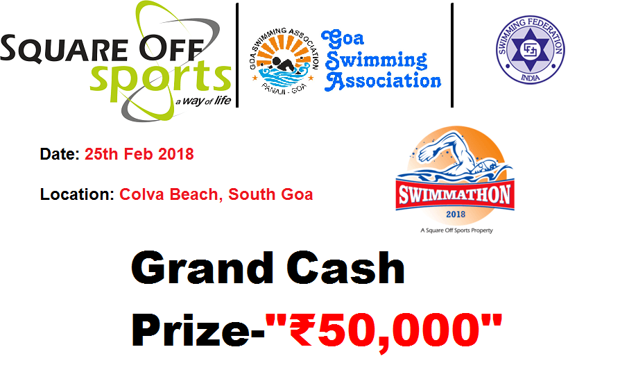 SWIMMATHON 2018: GRAND PRIZE ₹50,000, Registration Open