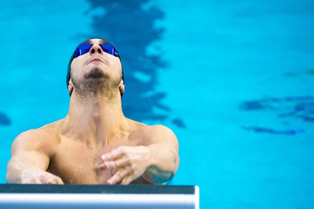 Giovanni Izzo Just-Misses European Qualifying Standard in 100 IM in Italy