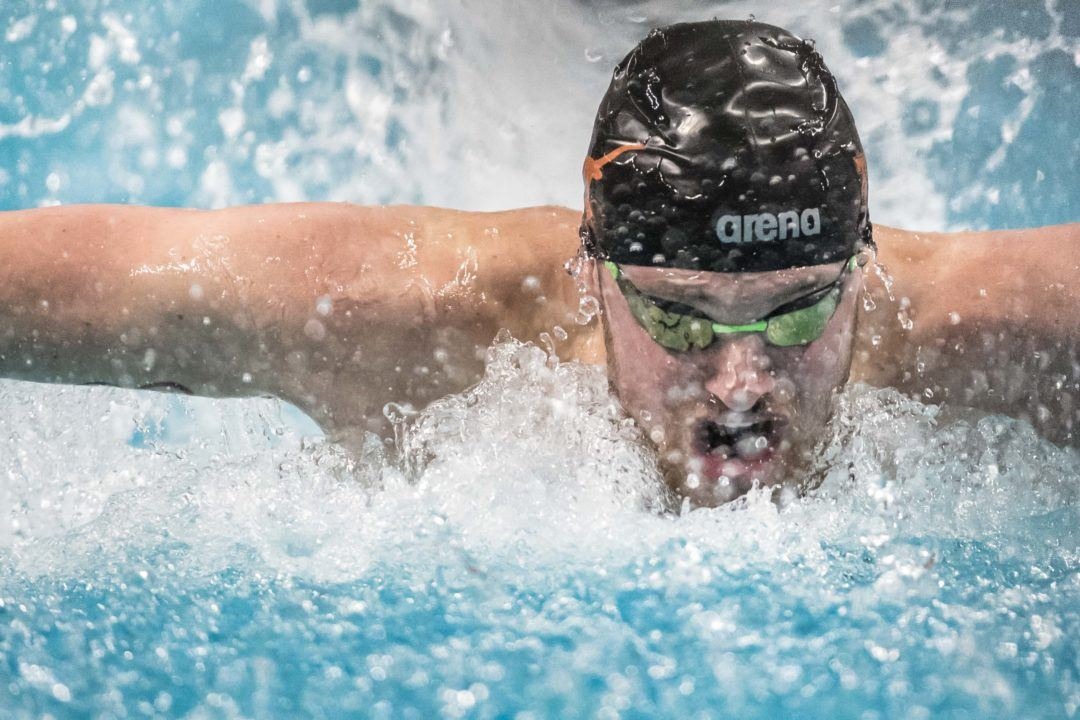 Jack Conger Swims Another 51-Second 100 Fly at Austin Sectionals