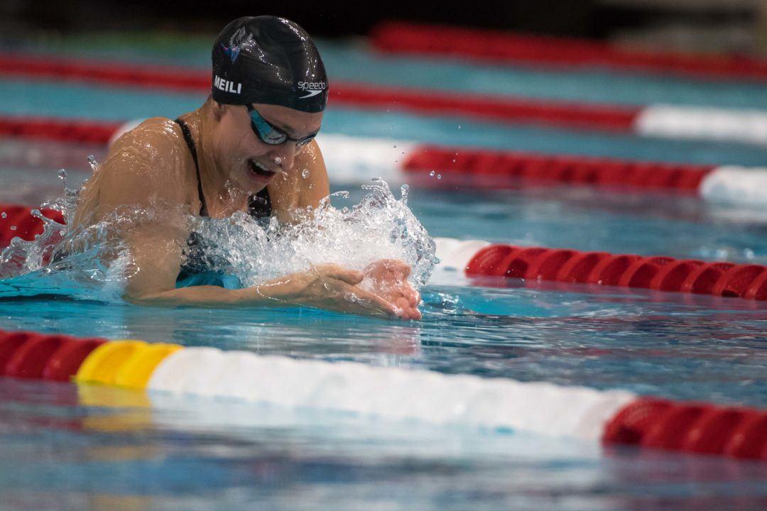 Katie Meili Breaks down First Long Course Swim Since Worlds (Video)