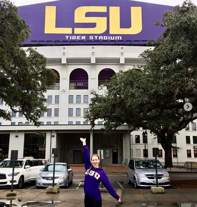 Summer Stanfield Gives LSU Women Their 2nd Verbal for 2019-20