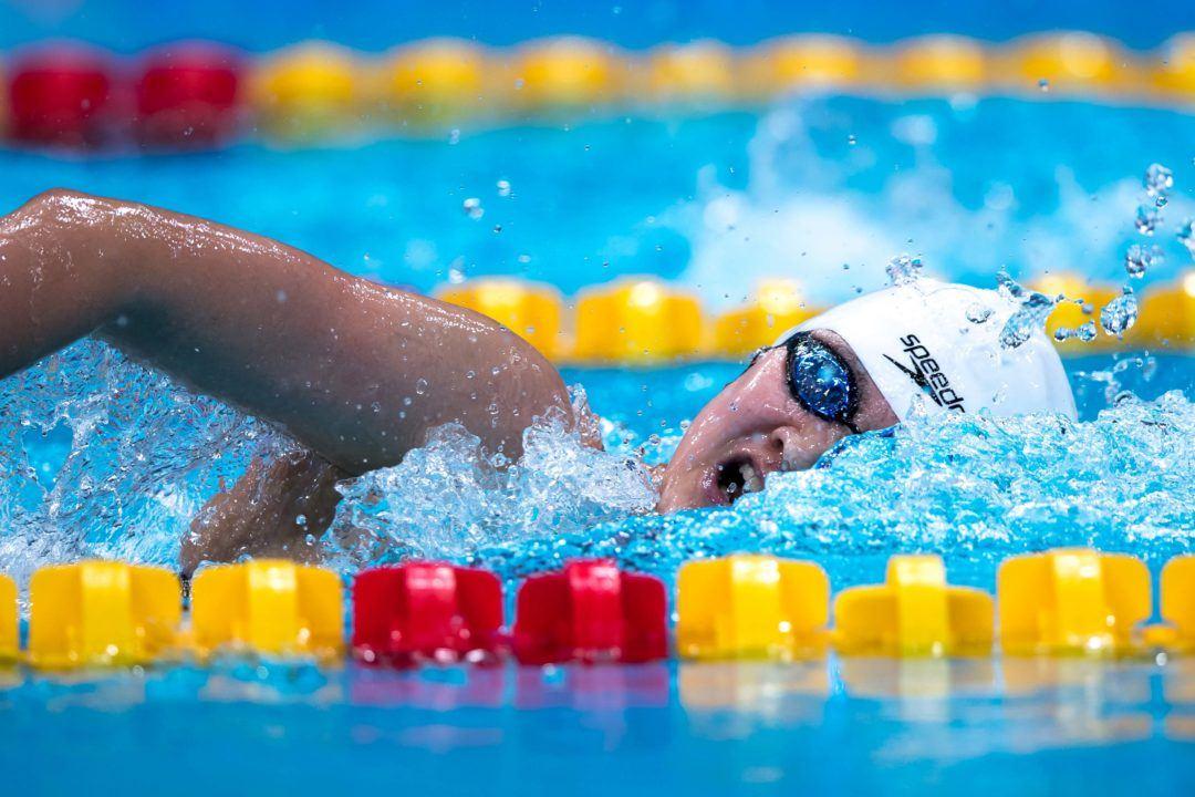 FINA World Cup Budapest: Wang Record Del Mondo 400 sl SC 3:53.97