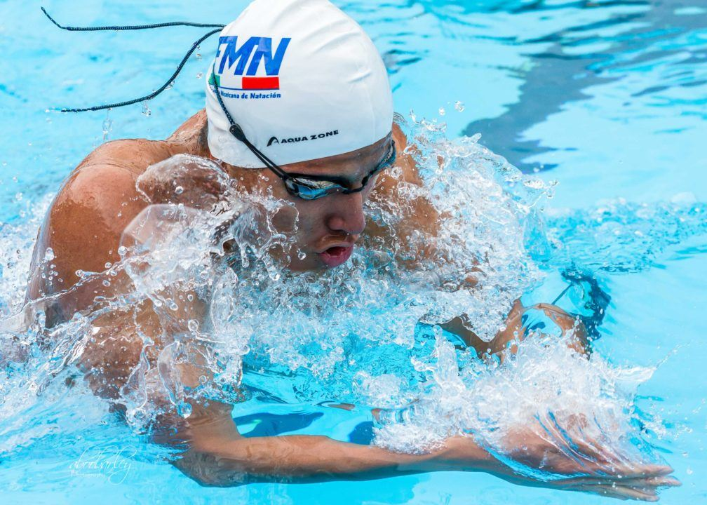 Mexico Leads Medals Table After Day 1 of UANA Swim Cup