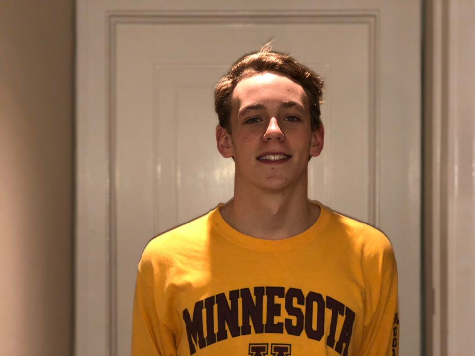 Minnesota Adds Verbal Commitment from Distance Freestyler Aidan Dillon