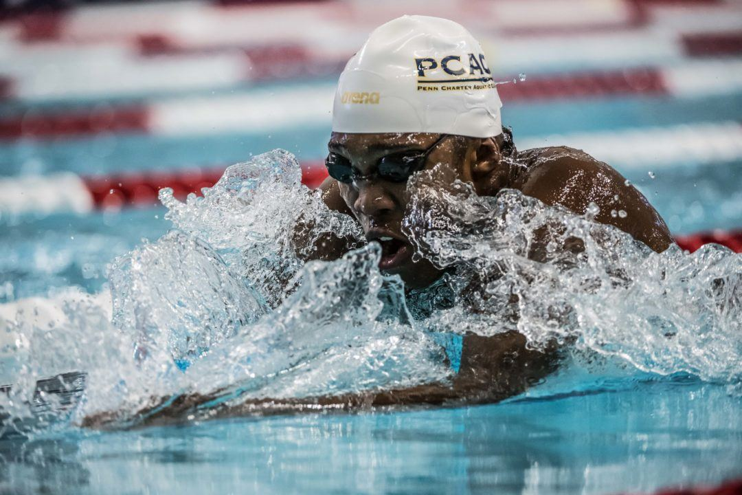 Reece Whitley Wins 200 Free, 100 Fly at Last Inter-Ac League Champs
