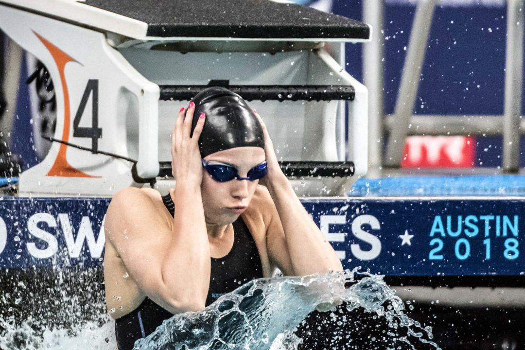 Smith Lowers WJR Again in Finals, IU Breaststroke Sweeps at Counsilman Classsic