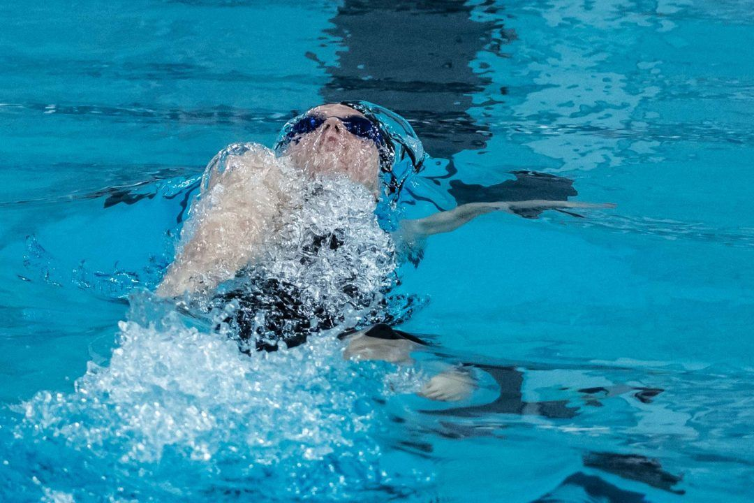 Regan Smith Sets 100 Back 15-16 NAG in Akron Sectionals Prelims