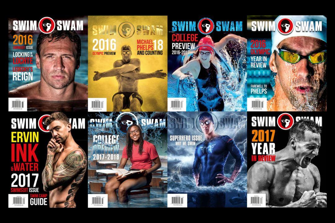 7 Reasons To Love SwimSwam Magazine