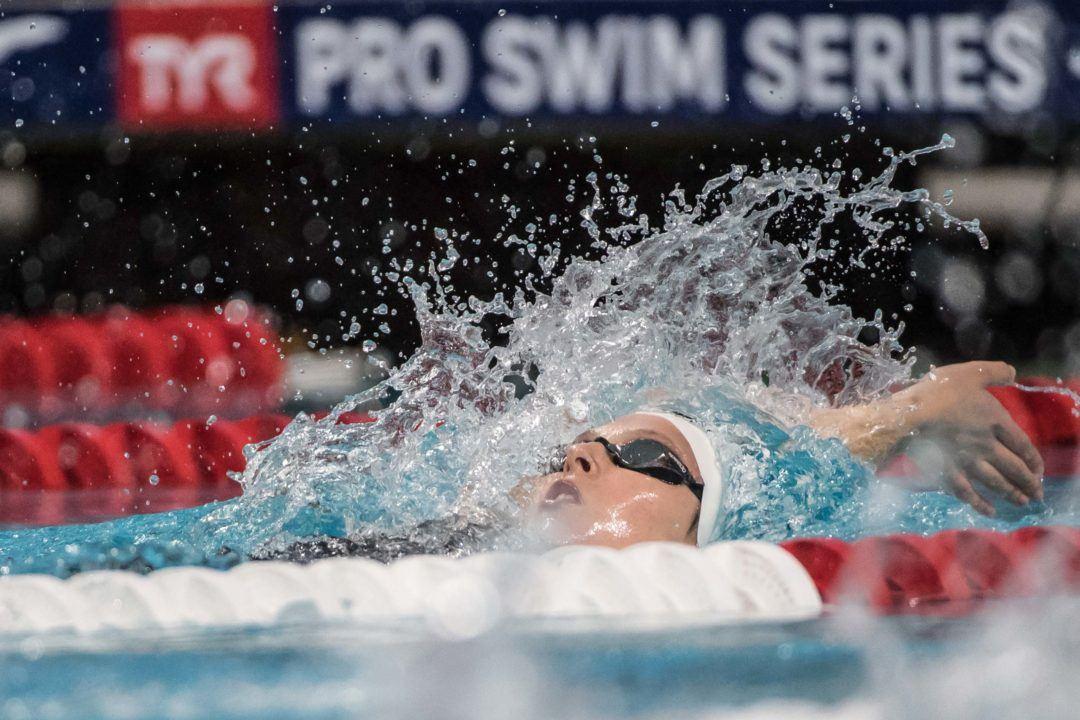 Sydney Pickrem Picks Up Backstroke Duties, Hits 1:58 IM at OSU
