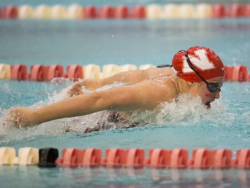 Diver Abi Knapton Breaks Pool Record As Nebraska Downs Iowa State