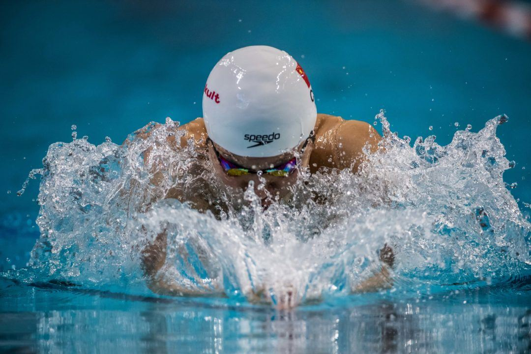 Yan Zibei Ties US Open Record, Breaks Chinese Record with 58.74 100 Breast