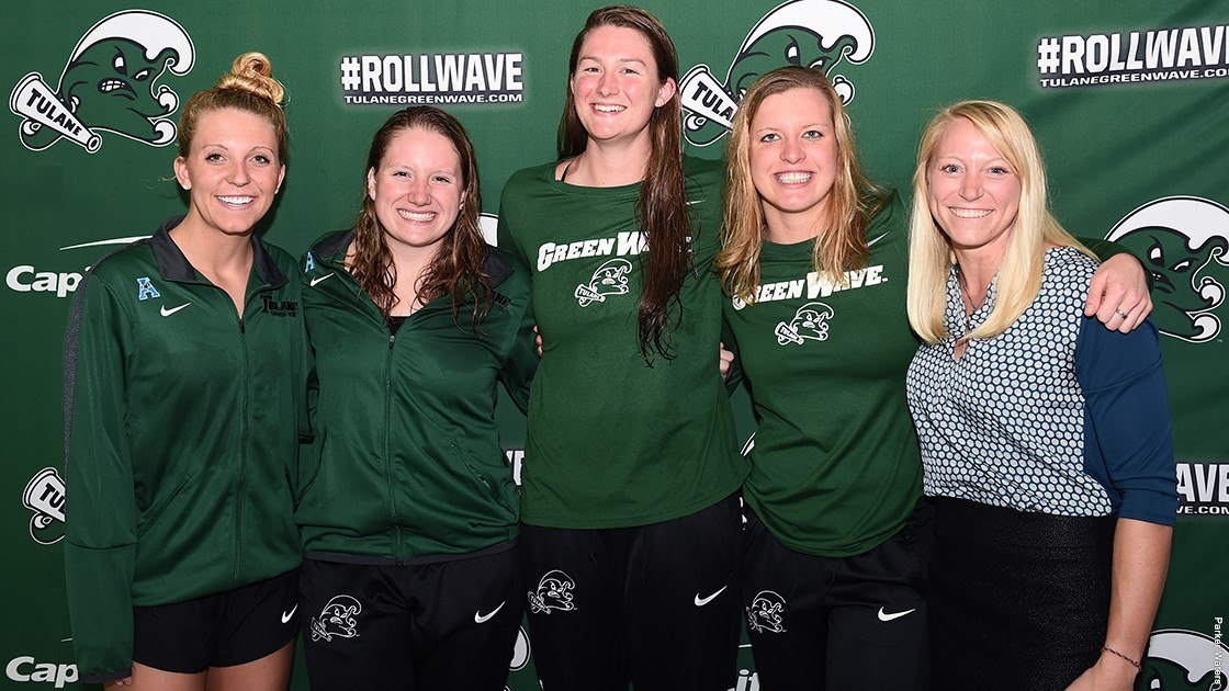 Tulane Women Take All 15 Events in Loyola Dual