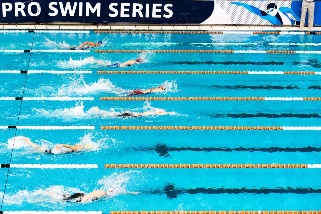 Time Standards for Greensboro Stop of 2019-2020 Pro Swim Series Released