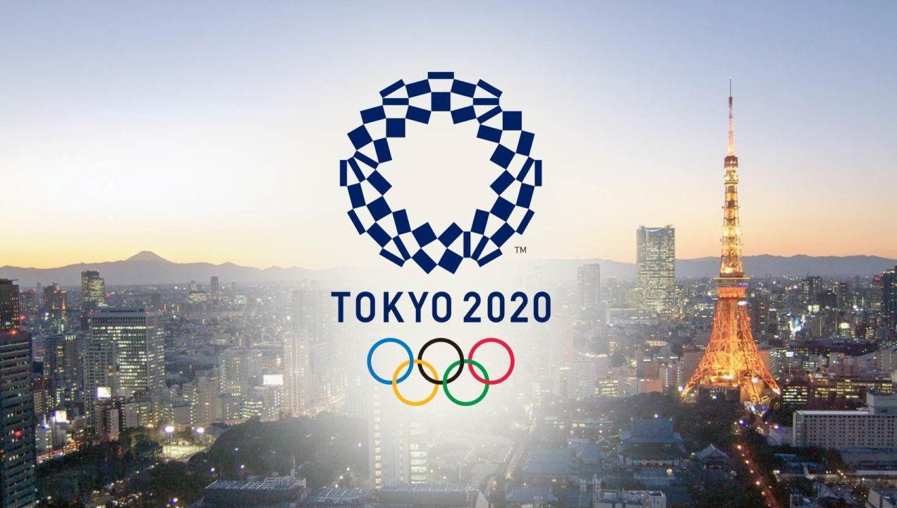 From the Ground Up: Tokyo's Olympic Aquatic Center Begins Work on Roof