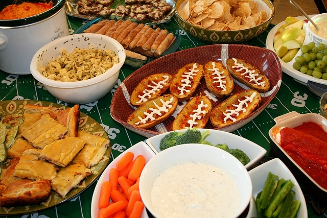 Taper-Friendly Super Bowl Party Food