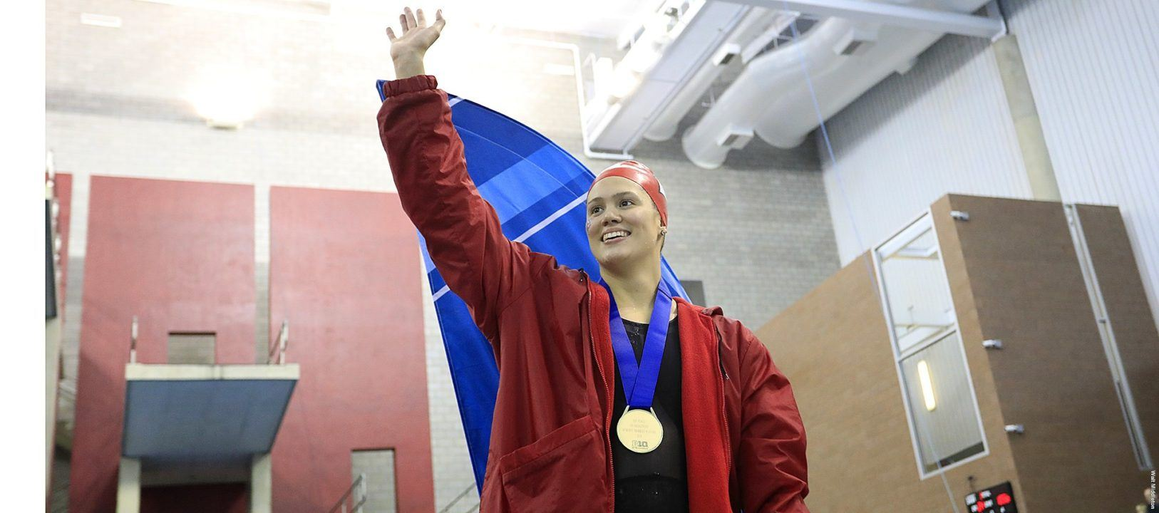 Beata Nelson Breaks 2nd Big Ten Backstroke Record of the Week
