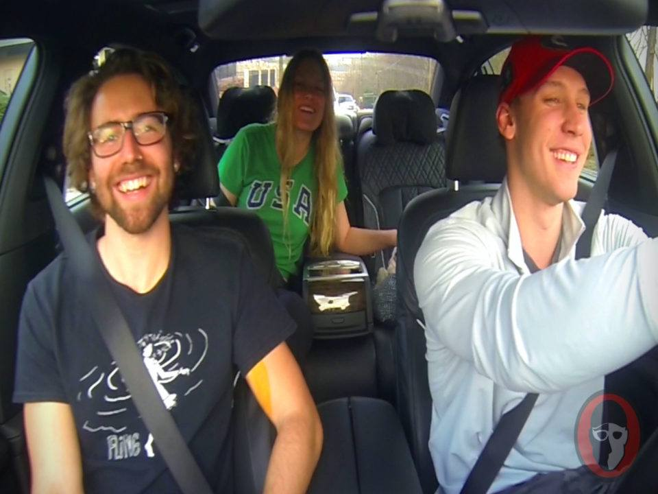Coleman's Carpool: Chase Kalisz and Olivia Smoliga Play Would You Rather