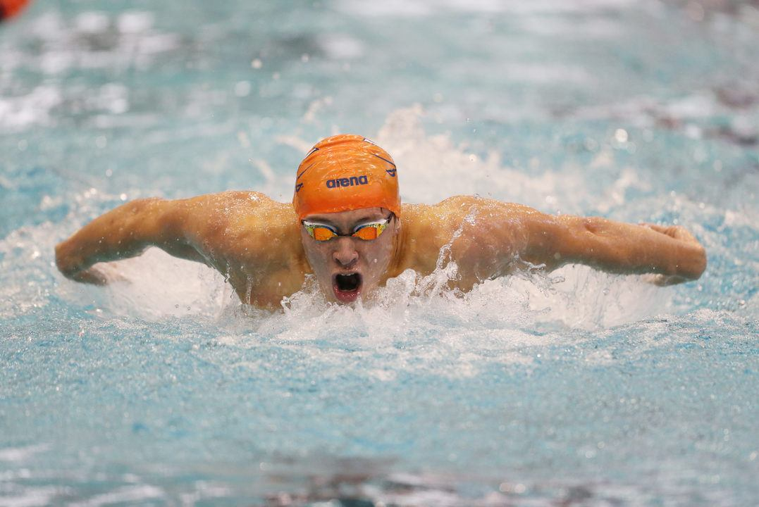 Fong Goes 45.5 100 Fly, Breaks Subirats Pool Record as UVA Sweeps VT