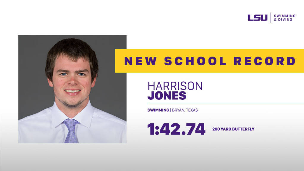 Harrison Jones Breaks LSU School Record at A&M Last Chance