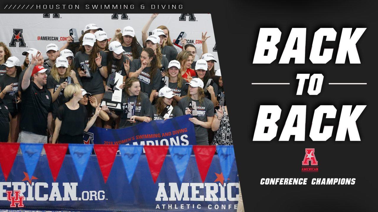 Houston Women Repeat in AAC; Cincinnati Men Win First Ever Title