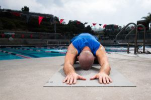 swimming-specific yoga