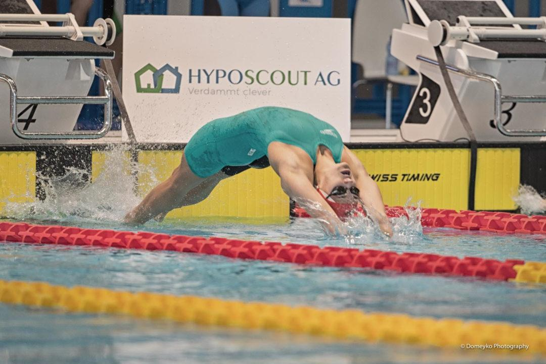 Kylie Masse Breaks Canadian 50 Back Record At U SPORTS Championships