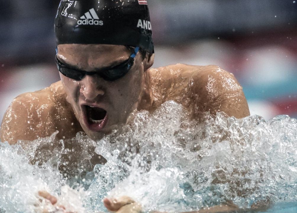 Michael Andrew Swims Lifetime Best, at Altitude, in Mexico