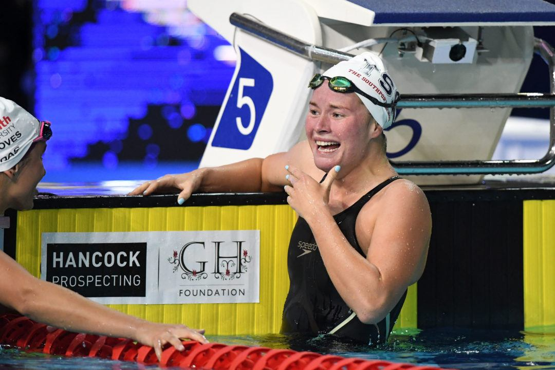 """It Really Hurt"", Says Aussie Laura Taylor Of 200 Fly Upset (2:06.80)"