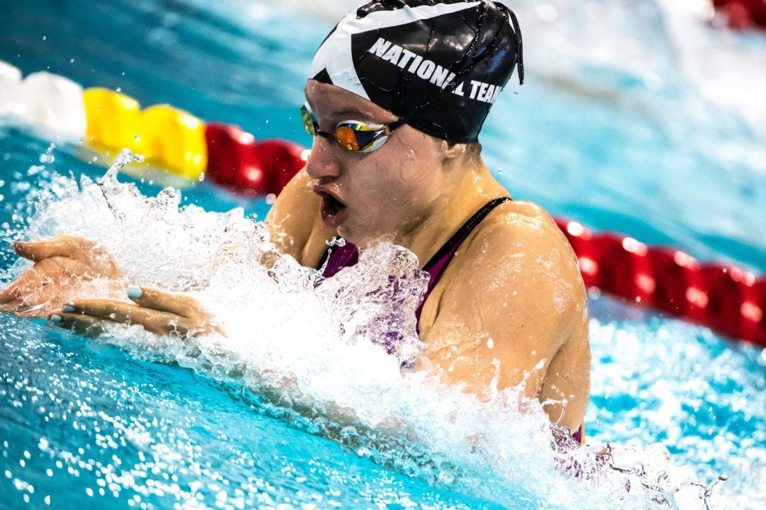 NAG Record Holder Zoe Skirboll Swims First Post-Quarantine Races in Pittsburgh