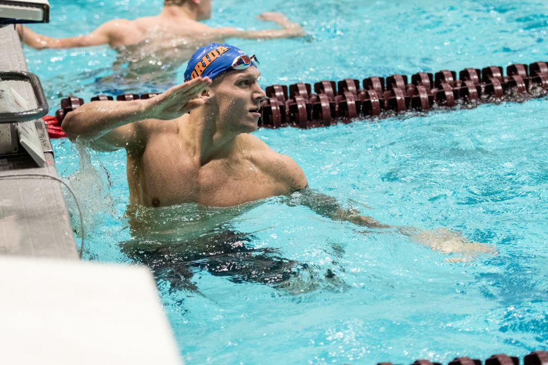 On Top Again: Caeleb Dressel Goes 1:38 200 Yard IM