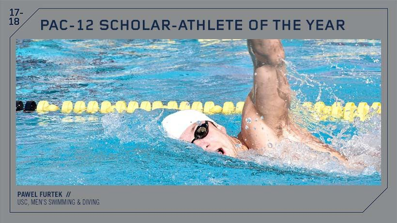 USC's Pawel Furtek Named Pac-12 Men's Scholar-Athlete Of The Year
